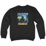 'Jason' Crew Neck Sweatshirt (Black)