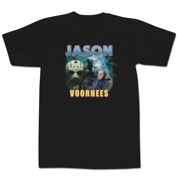 'Jason Bootleg Rap' T-Shirt (Black)