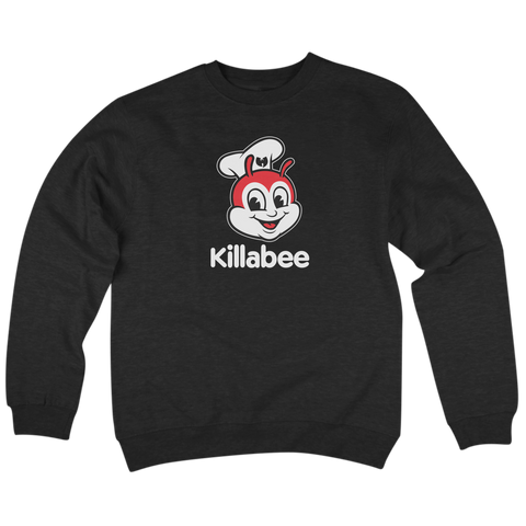 'KillaBee' Crewneck Sweatshirt (Black)