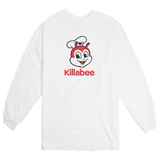 'KillaBee' Long Sleeve T-Shirt (White)