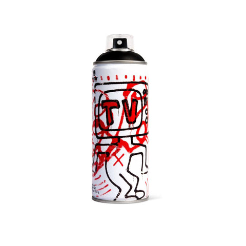 'Keith Haring Special Edition' *Black* (Spray Can)