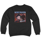'Krueger' Crew Neck Sweatshirt (Black)
