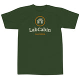 'LabCabin' T-Shirt (Dark Green)
