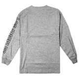 'L.A. Bones' LongSleeve T-Shirt (Heather Grey)