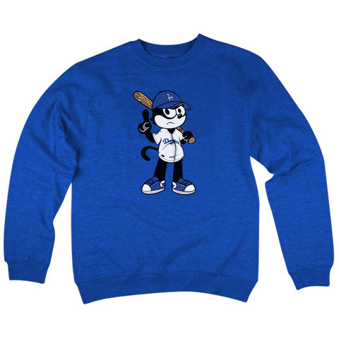 'LA Felix' Crew Neck Sweatshirt (Dodger Blue)