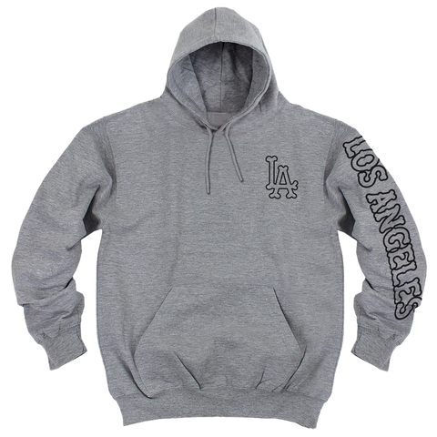 'L.A. Bones' Hoodie (Heather Grey)
