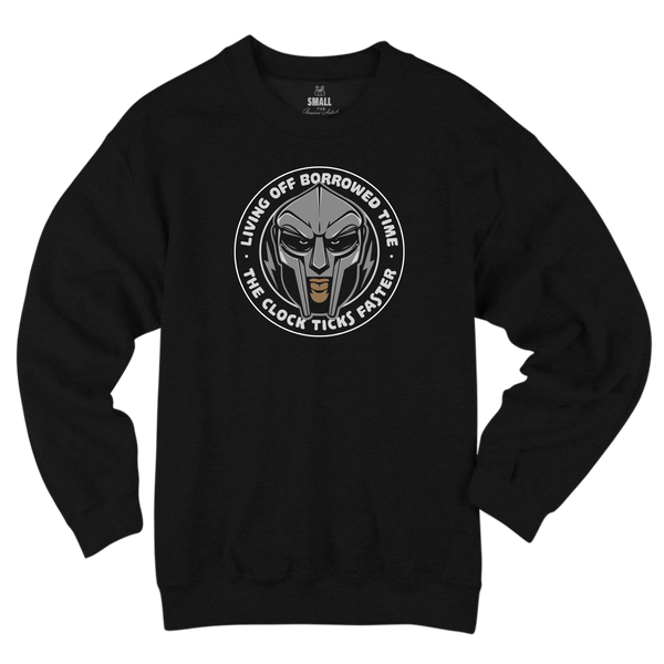 'Accordion' Crewneck Sweatshirt (Black)