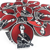 'The Bobfather' Embroidered Patch - Lil Bullies   - 7