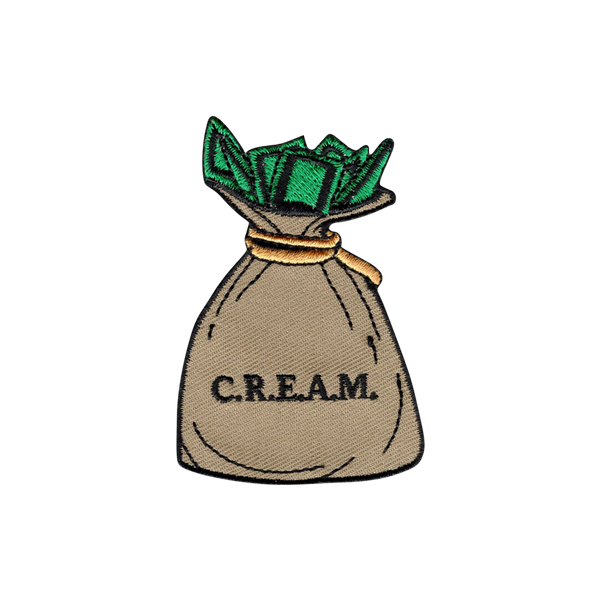 'Cream' Embroidered (Patch)