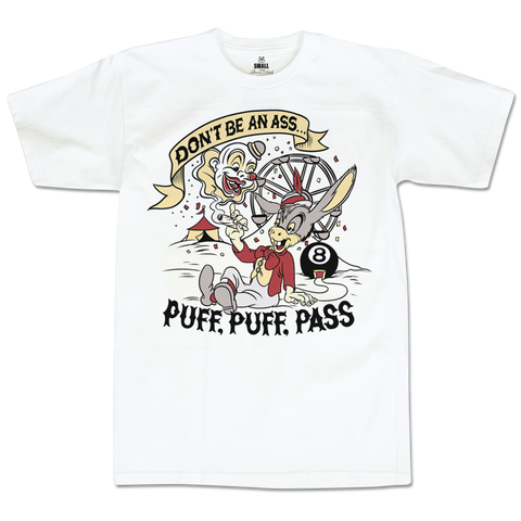 'Ass-Pass' T-Shirt (White)