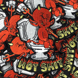 'Hot Shit' Embroidered (Patch)