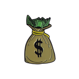 'Money Bag' Lapel Pin