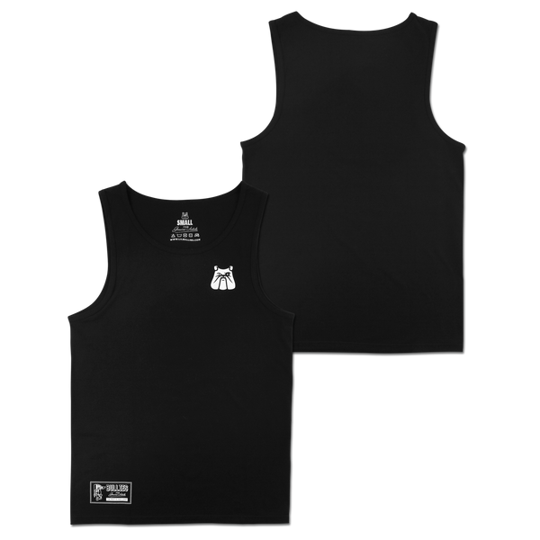 'Club' Black Tank Top