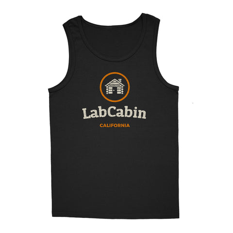 'LabCabin' Tank-Top (Black)