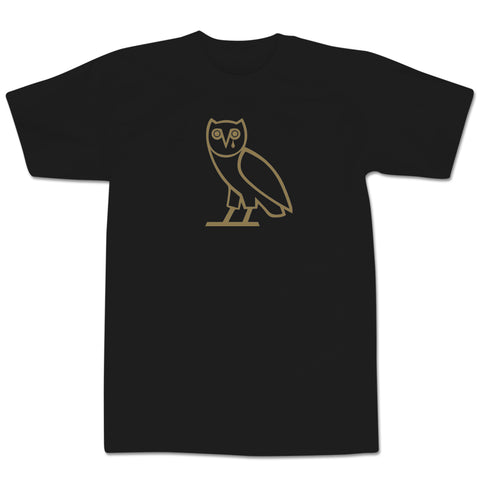 'Sad Owl' T-Shirt (Black)