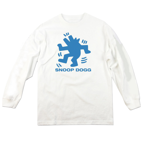 'Snoop Dogg' L/S T-Shirt (White)