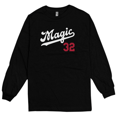 'Magic' L/S T-Shirt (Black)
