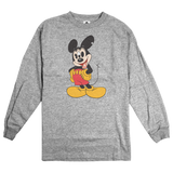 'Mouse Trip' L/S T-Shirt (Heather Grey)