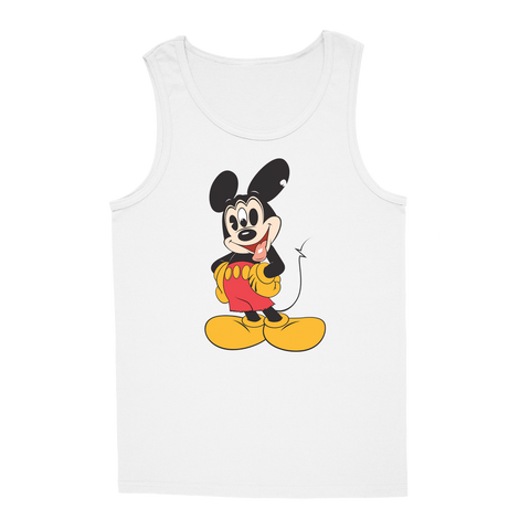 'Mouse Trip' Tank-Top (White)
