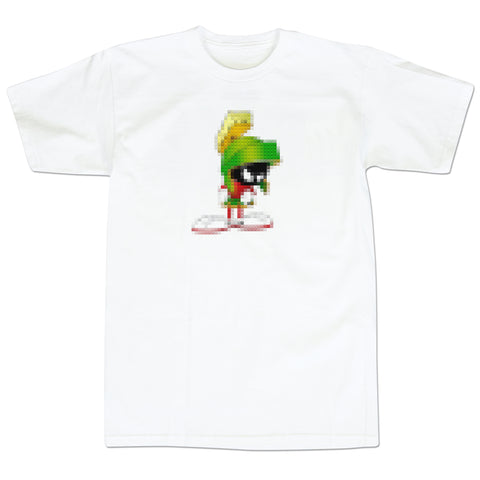 '8Bit Marvin' T-Shirt (White)
