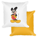 'Mouse Trip' Pillow (18x18)