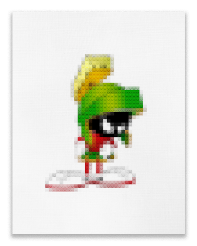 '8Bit Marvin' Poster (8x10)