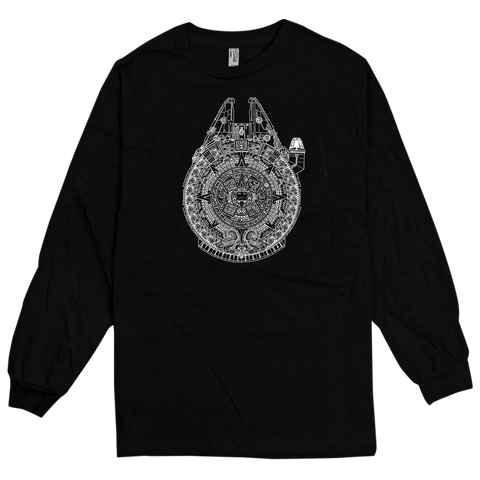 'New Millennium' L/S T-Shirt (Black)