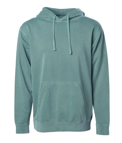 'Essentials Pigment Dyed' Hoodie (Pigment Alpine Green)
