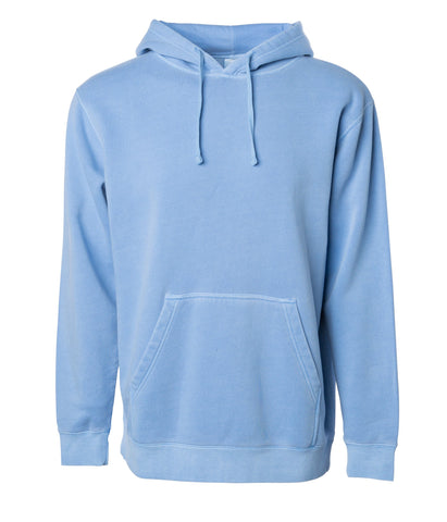 'Essentials Pigment Dyed' Hoodie (Pigment Light Blue)