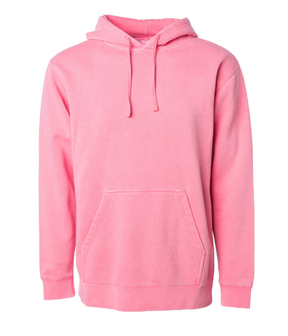 'Essentials Pigment Dyed' Hoodie (Pigment Pink)