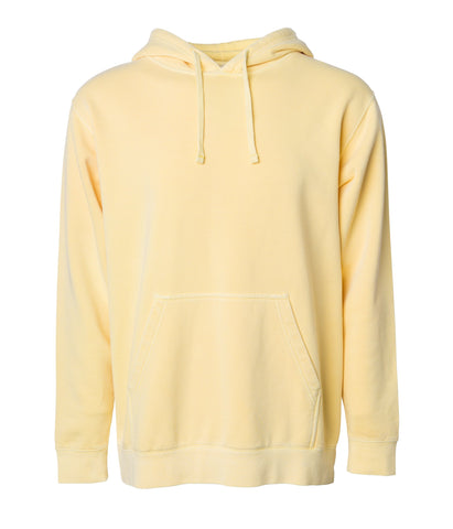 'Essentials Pigment Dyed' Hoodie (Pigment Yellow)