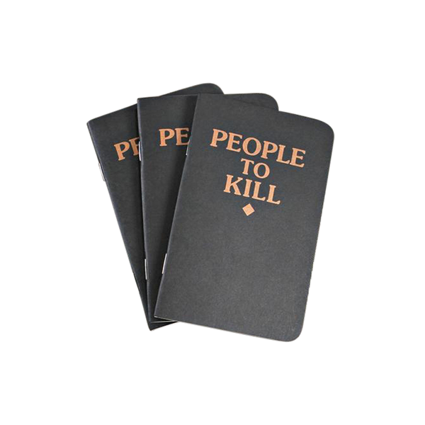'People To Kill' Memo Books (3 Pack)