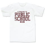 'Public School' T-Shirt (White)