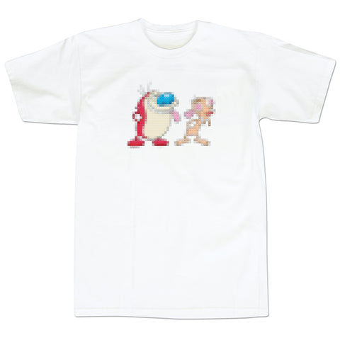 '8Bit Nick' T-Shirt (White)