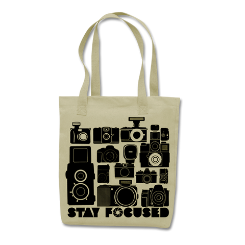 'Camera Collector' Tote Bag