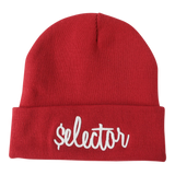'Signature' Beanie (Red)