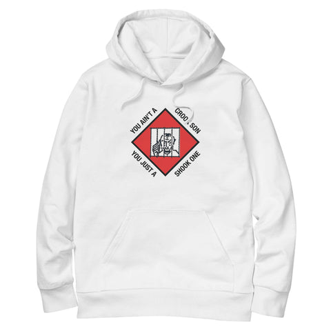 'Shook Ones' Hoodie (White)