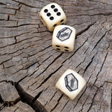 'Coffin Dice' (White)
