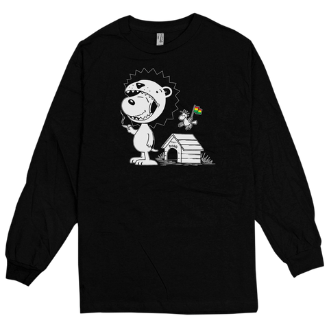 'Snoop Lyin' L/S T-Shirt (Black)