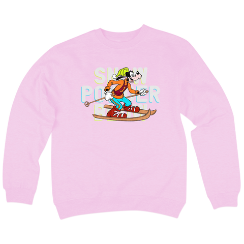'Powder' Crewneck Sweatshirt (Pink)