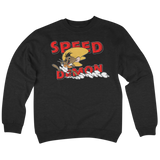 'Speed Demon' Crewneck Sweatshirt (Black)