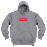 'Supercat' Hoodie (Heather Grey)
