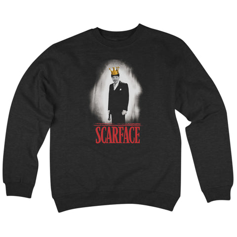 'Scarface' Crew Neck Sweatshirt (Black) *420 Exclusive*