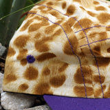 'Leopard' Purple 5-Panel Hat