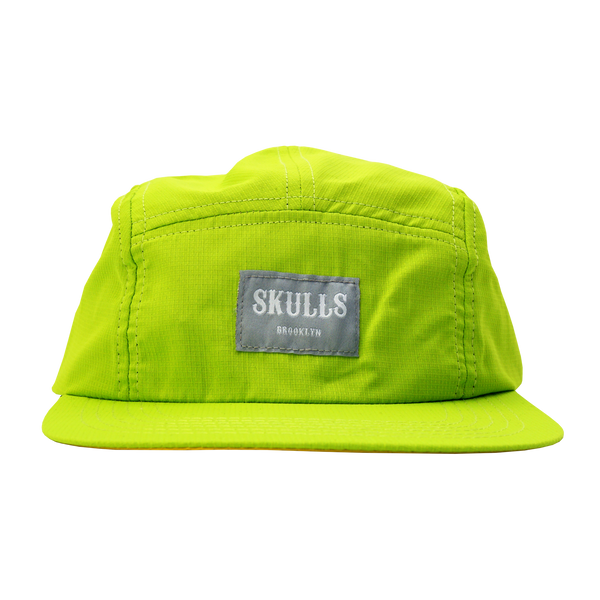 'Ripstop' Green 5-Panel Hat