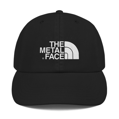 'The Metal Face' Champion Hat (Black)