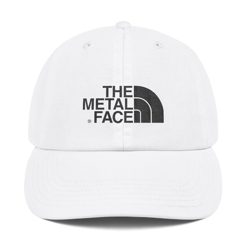 'The Metal Face' Champion Hat (White)