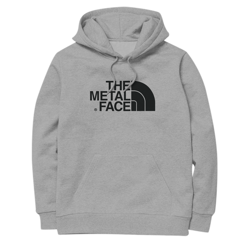 'The Metal Face' Hoodie (Heather Grey)