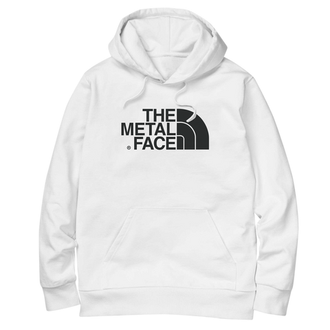 'The Metal Face' Hoodie (White)