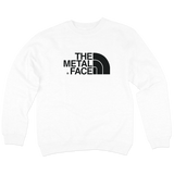 'The Metal Face' Crewneck Sweatshirt (White)